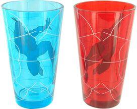 Spiderman Web Swing Pint Glass Set