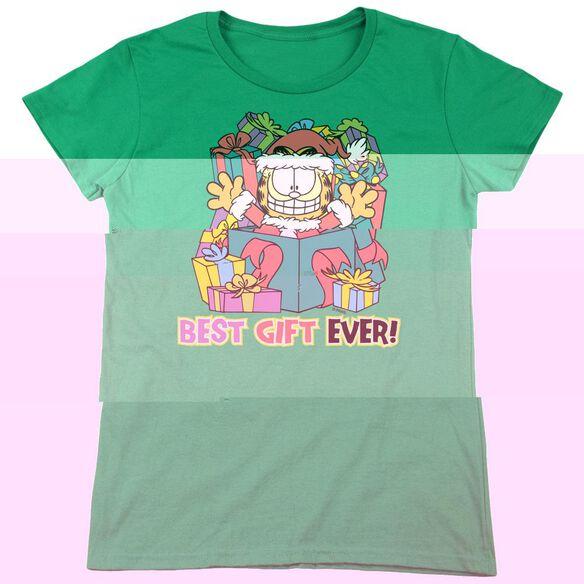 GARFIELD BEST GIFT EVER-S/S WOMENS T-Shirt