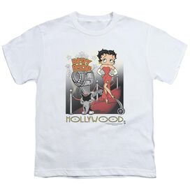 Betty Boop Hollywood Short Sleeve Youth T-Shirt