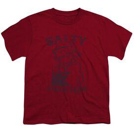 Popeye Salty Dog Short Sleeve Youth T-Shirt