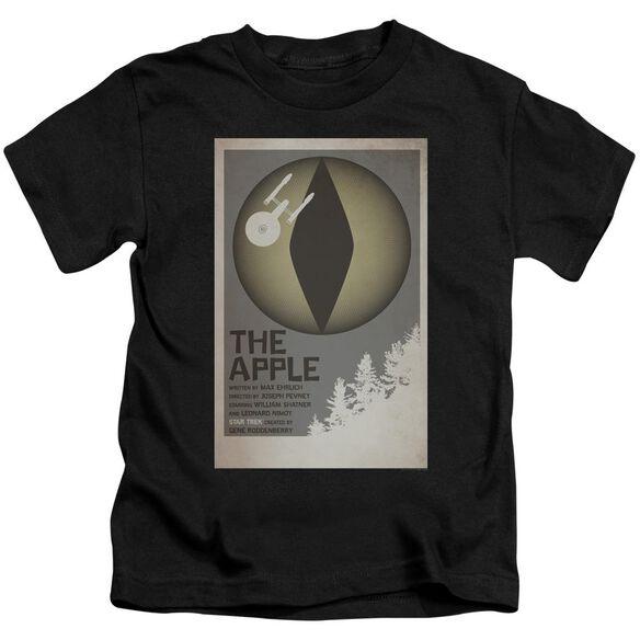 Star Trek Tos Episode 34 Short Sleeve Juvenile Black T-Shirt