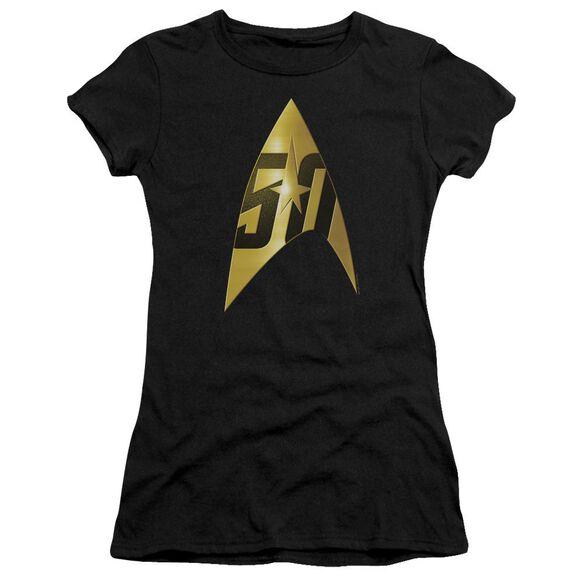 Star Trek 50 Th Anniversary Delta Premium Bella Junior Sheer Jersey