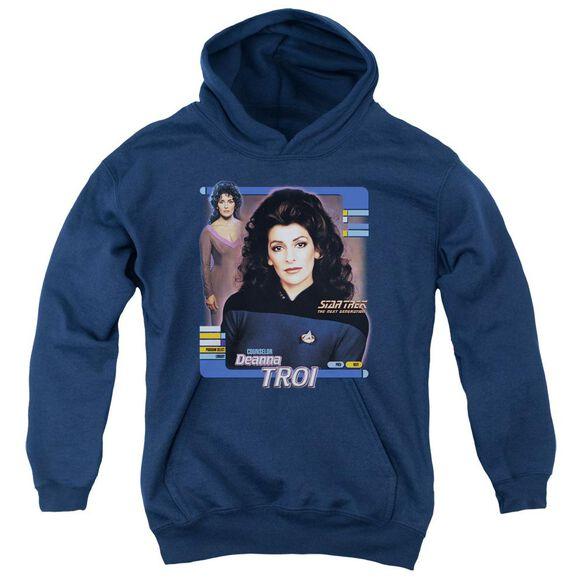 Star Trek Deanna Troi Youth Pull Over Hoodie