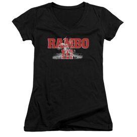 Rambo Iii John Rambo Junior V Neck T-Shirt