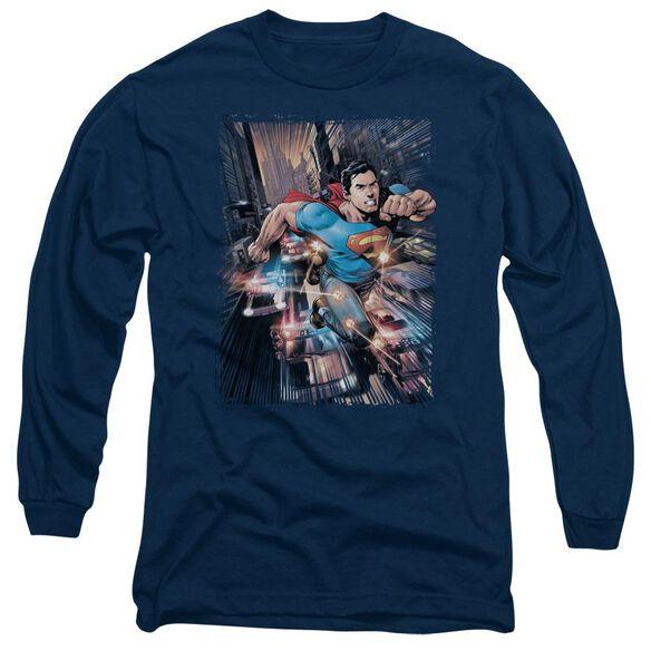 Superman Action Comics #1 Long Sleeve Adult T-Shirt