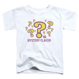 Dum Dums Mystery Flavor Short Sleeve Toddler Tee White Lg T-Shirt