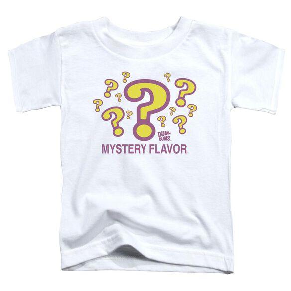 Dum Dums Mystery Flavor Short Sleeve Toddler Tee White Lg T-Shirt