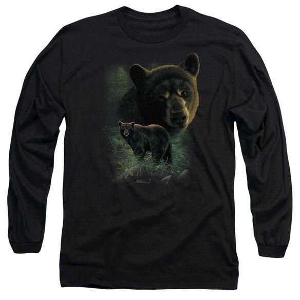 Wildlife Bears Long Sleeve Adult T-Shirt
