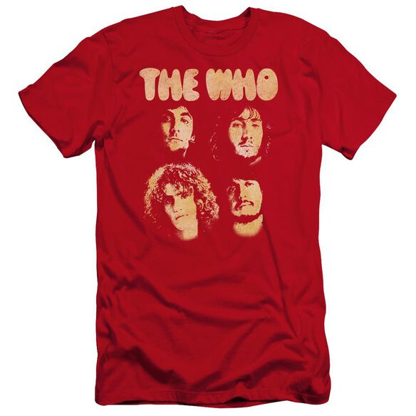 The Who Who Boys Premuim Canvas Adult Slim Fit