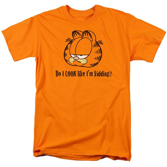 Garfield Do I Look Like Im Kidding Short Sleeve Adult T-Shirt