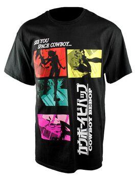 Cowboy Bebop Kanji Black T-Shirt