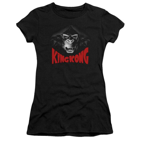King Kong Kong Face Short Sleeve Junior Sheer T-Shirt