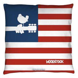 Woodstock Flag Throw