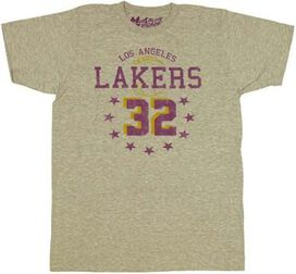 NBA Magic Johnson T-Shirt Sheer