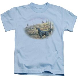 Wildlife Looking Back Short Sleeve Juvenile Light T-Shirt
