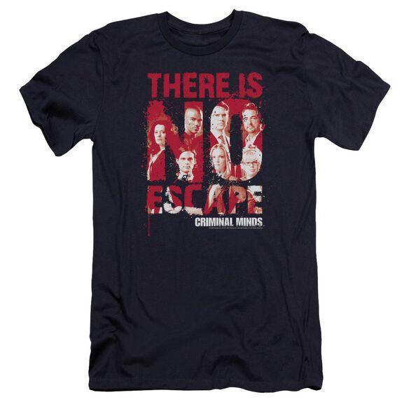 Criminal Minds No Escape Premuim Canvas Adult Slim Fit