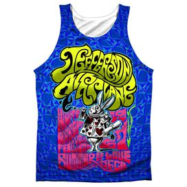 Jefferson Airplane Rabbit Adult 100% Poly Tank Top