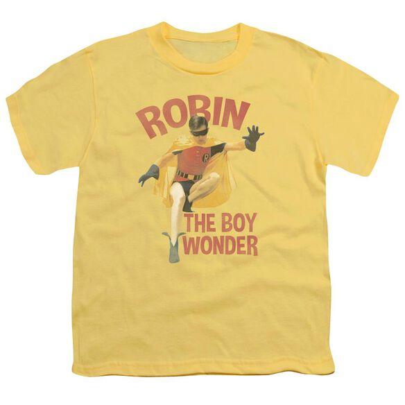 Batman Classic Tv Boy Wonder Short Sleeve Youth T-Shirt