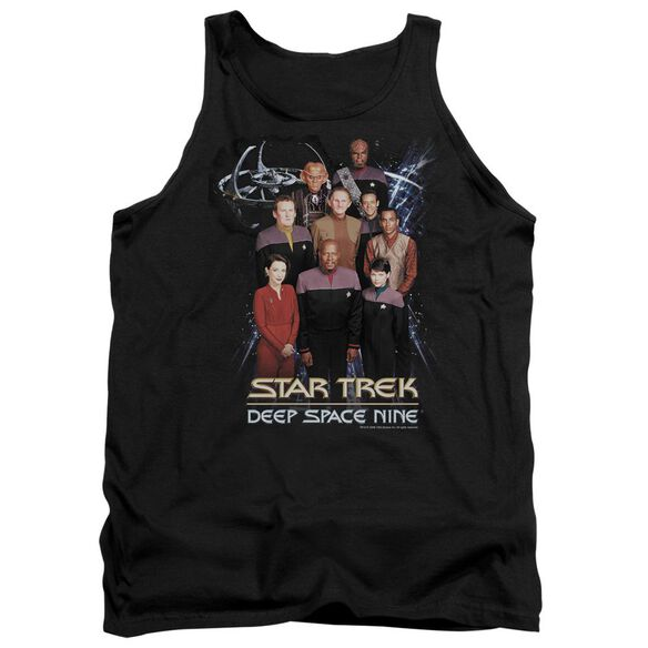 Star Trek Ds9 Crew - Adult Tank - Black