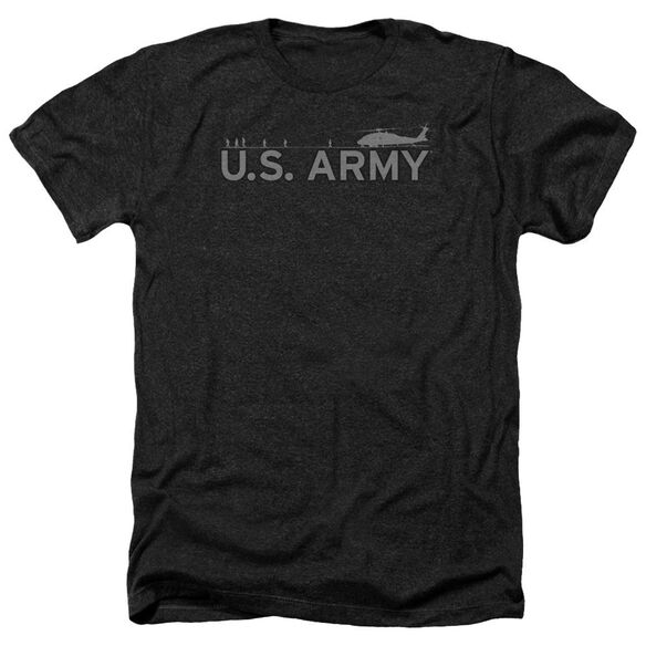 Army Helicopter Adult Heather