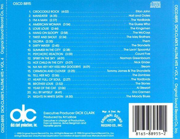 D.Clark Classic Rock V4