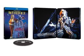 Beetlejuice [Exclusive Blu-ray Steelbook]