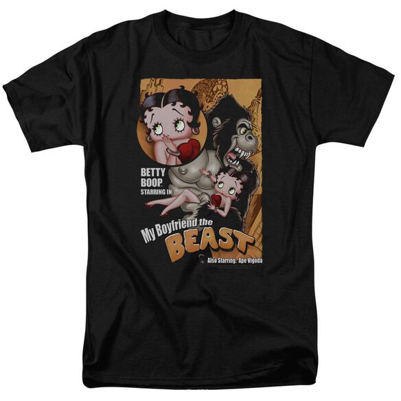 Betty Boop Boyfriend The Beast Short Sleeve Adult T-Shirt