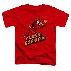 Flash Gordon Zang Short Sleeve Toddler Tee Red T-Shirt