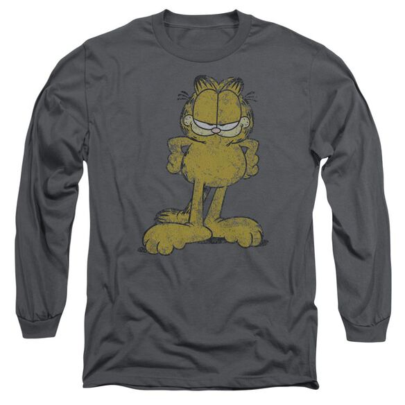 Garfield Big Ol Cat Long Sleeve Adult T-Shirt