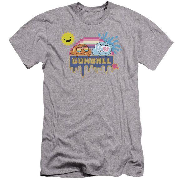 Amazing World Of Gumball Sunshine Hbo Short Sleeve Adult Athletic T-Shirt