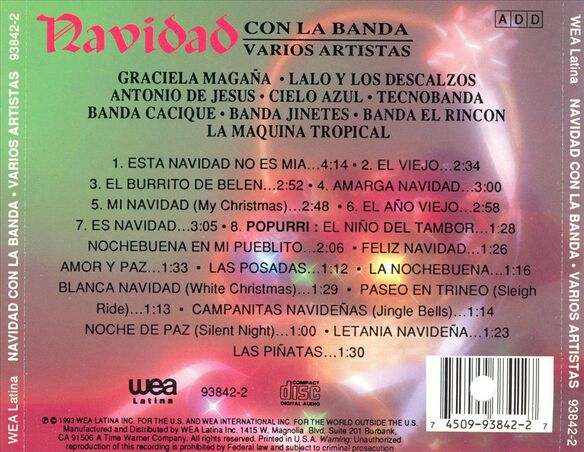 Navidad Con La Banda O993
