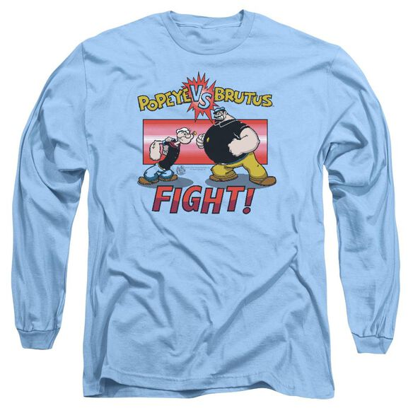 Popeye Flight Long Sleeve Adult Carolina T-Shirt