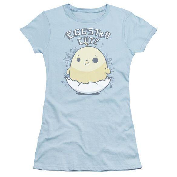 Eggstra Cute Short Sleeve Junior Sheer Light T-Shirt