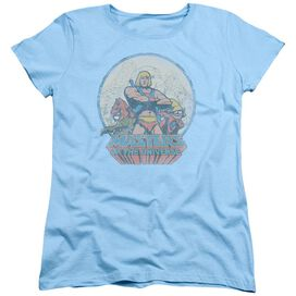 Masters Of The Universe He Man And Crew Short Sleeve Womens Tee Light T-Shirt