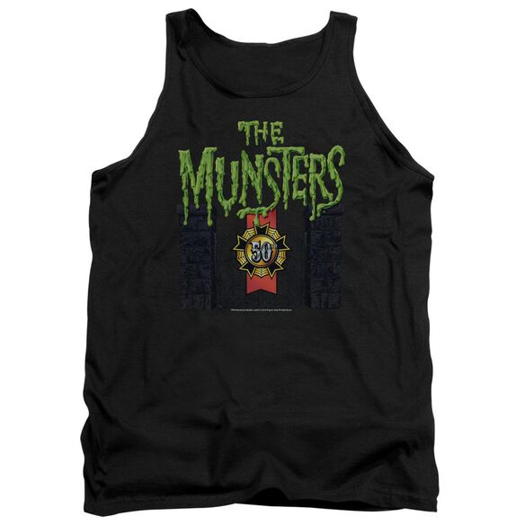 The Munsters 50 Year Logo Adult Tank