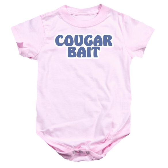 Cougar Bait Infant Snapsuit Pink Md
