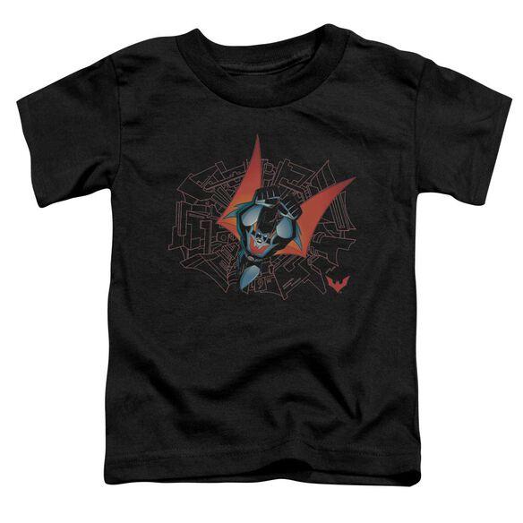 Batman Beyond Swooping Down Short Sleeve Toddler Tee Black Md T-Shirt