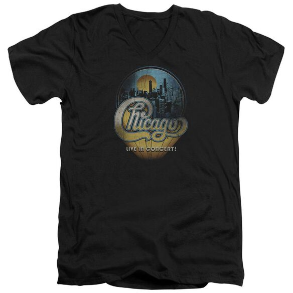 Chicago Live Short Sleeve Adult V Neck T-Shirt