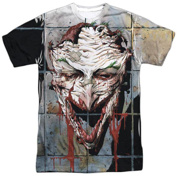 Batman Smile Short Sleeve Adult Poly Crew T-Shirt