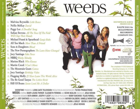 Weeds:Music From The 0905