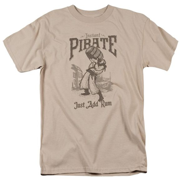 Instant Pirate Short Sleeve Adult Sand T-Shirt