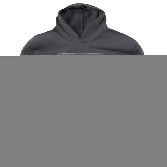 Riverside Riverside Distressed - Youth Pull - Over Hoodie - Charcoal