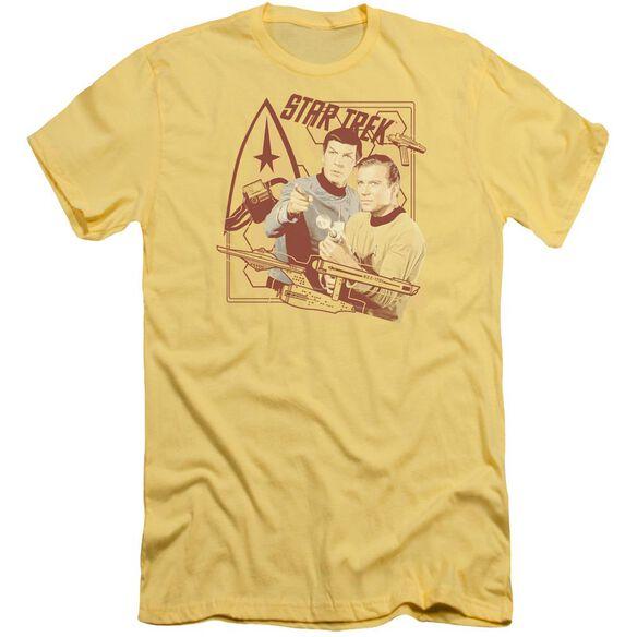Star Trek Shoot That Thing Short Sleeve Adult T-Shirt