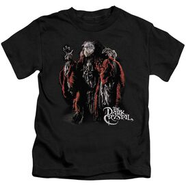 Dark Crystal Skeksis Short Sleeve Juvenile Black T-Shirt