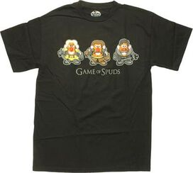 Mr Potato Head Game of Spuds T-Shirt