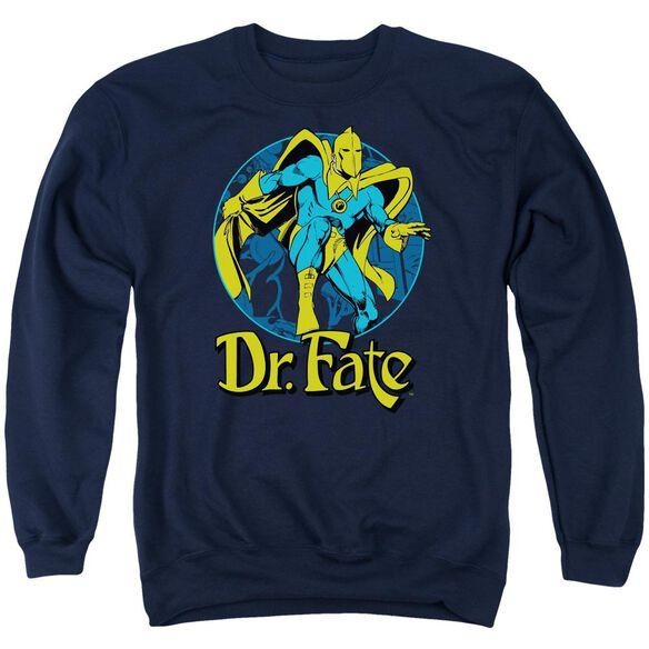 Dc Dr Fate Ankh Adult Crewneck Sweatshirt