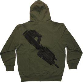 Halo UNSC Gun Zip Hoodie