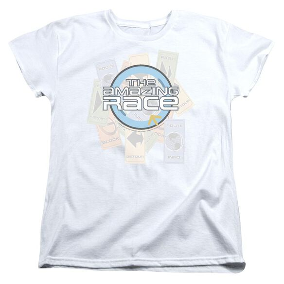 Amazing Race The Race Short Sleeve Womens Tee T-Shirt