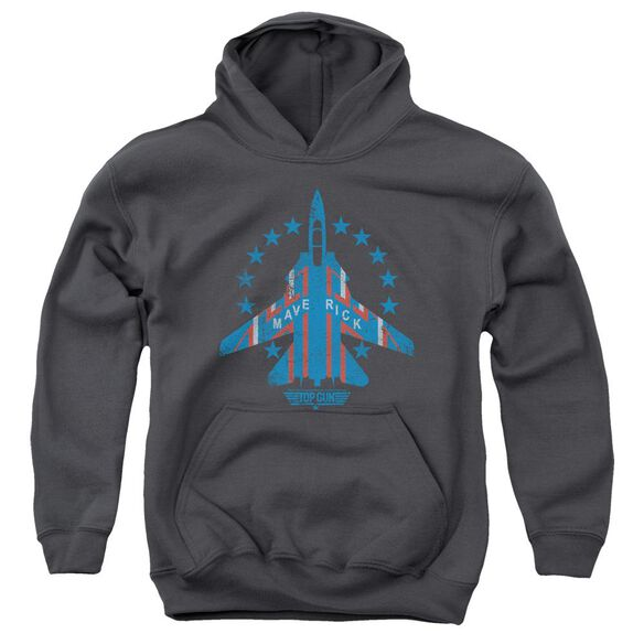 Top Gun Maverick Youth Pull Over Hoodie