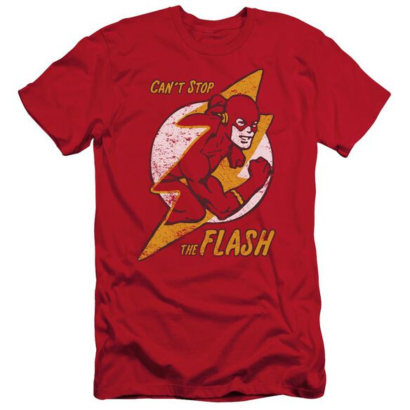 Dc Flash Flash Bolt Short Sleeve Adult T-Shirt